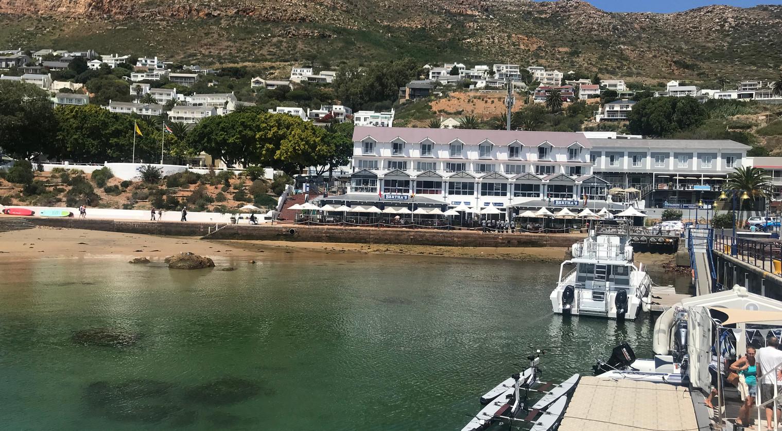 Simons Town harbour