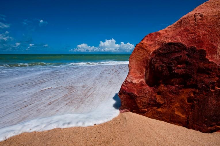 Falésias na Praia de Tabatinga/PB