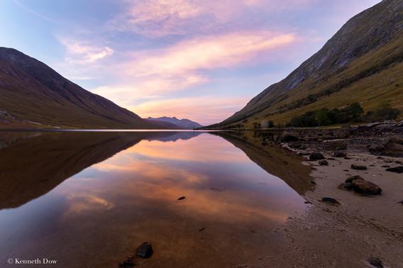 Glen Etive sunrise