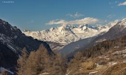 Mont Blanc from Tignes-les Brévières