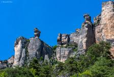 Limestone formations