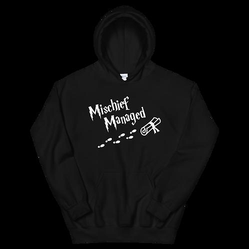 Mischief Managed Hoodie (dark)