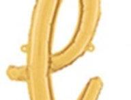 "TBS Foil - 18"" l Script style Gold Balloon"