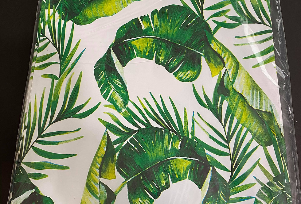 TBS Accessories_100pcs Poly Mailer_Tropical Leaves