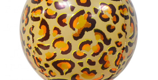 TBS Foil - Cheetah Animal Print Balloon 22""