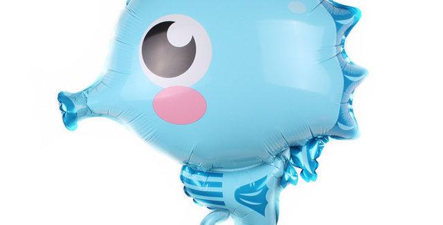 TBS Foil - Under The Sea Creatures Foil Balloon Sea Horse