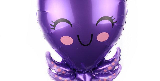 TBS Foil - Under The Sea Creatures Foil Balloon Squid