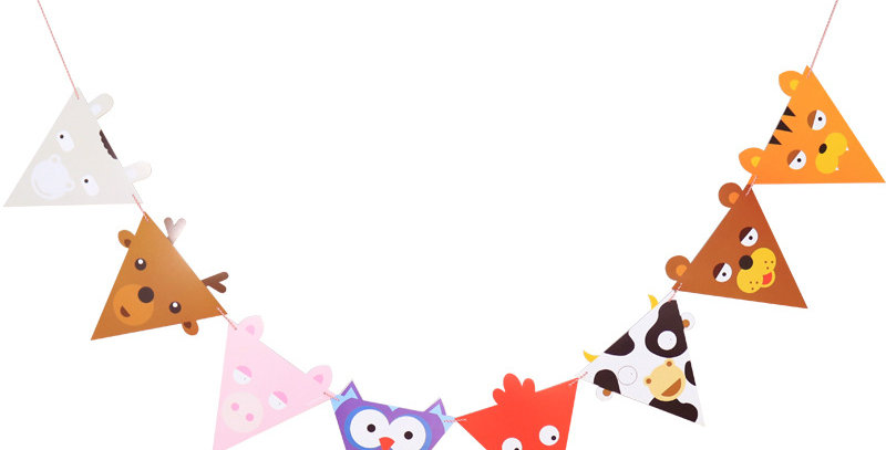 TBS Accessories-Party Banner Animal theme