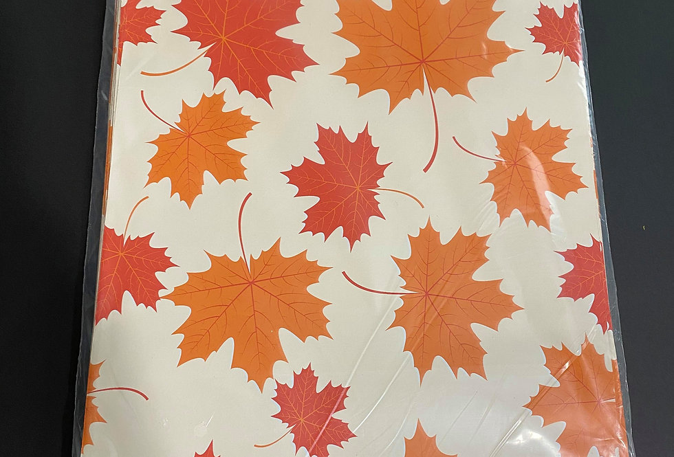 TBS Accessories_100pcs Poly Mailer_Maple Leaf