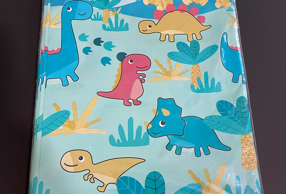 TBS Accessories_100pcs Poly Mailer_Dinosaurs