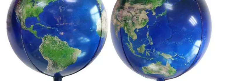 "TBS Foil - Planet Earth Balloon 22"""