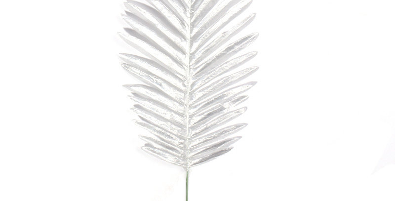 TBS Accessories - Fake Tropical Leaves_Silver
