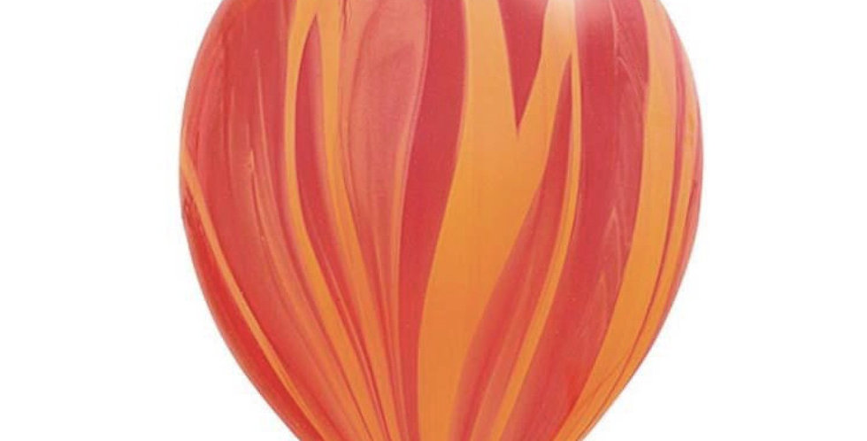 "TBS Latex - Agate Pastel Balloon 12""Orange"