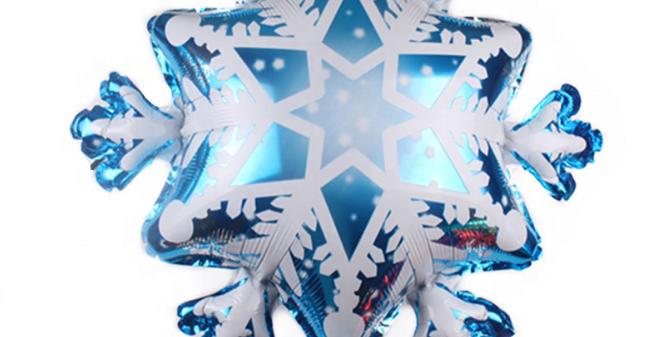TBS Foil - Snow Flakes foil Balloon