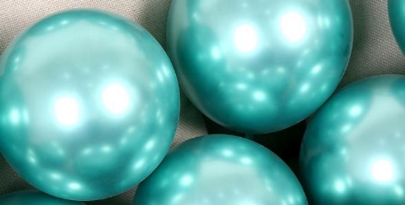 "TBS Latex - Green Metallic Balloon 10"""
