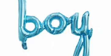 TBS Foil - Boy Balloon