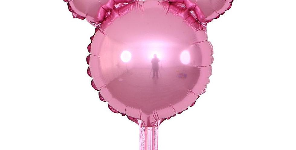 """TBS Foil - Pink Mickey Head 12"""""""