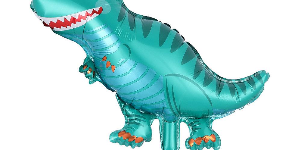 TBS Foil - Mini Dinosaur Foil Balloon Teal