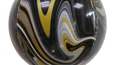 "TBS Latex - Black Agate Pattern Balloon 22"""