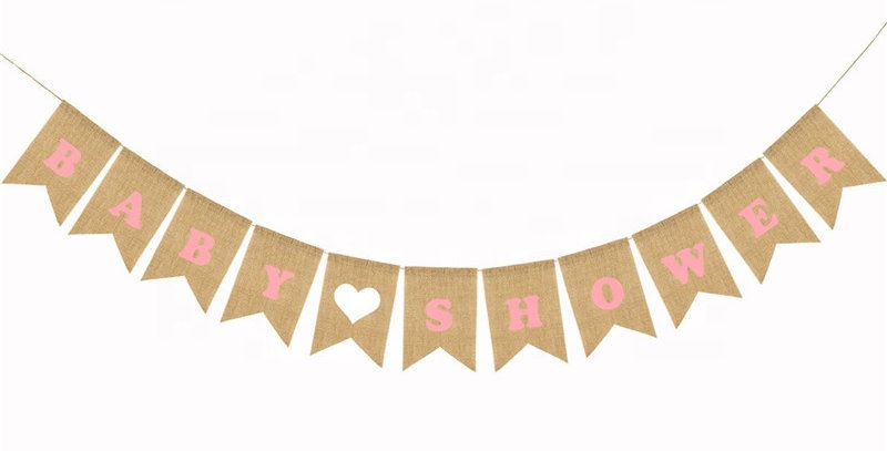 TBS Accessories- Baby Shower Banner Blue