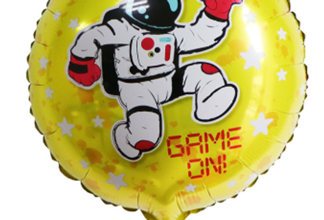 """copy of TBS Foil - 18"""" Astronaut yellow"""