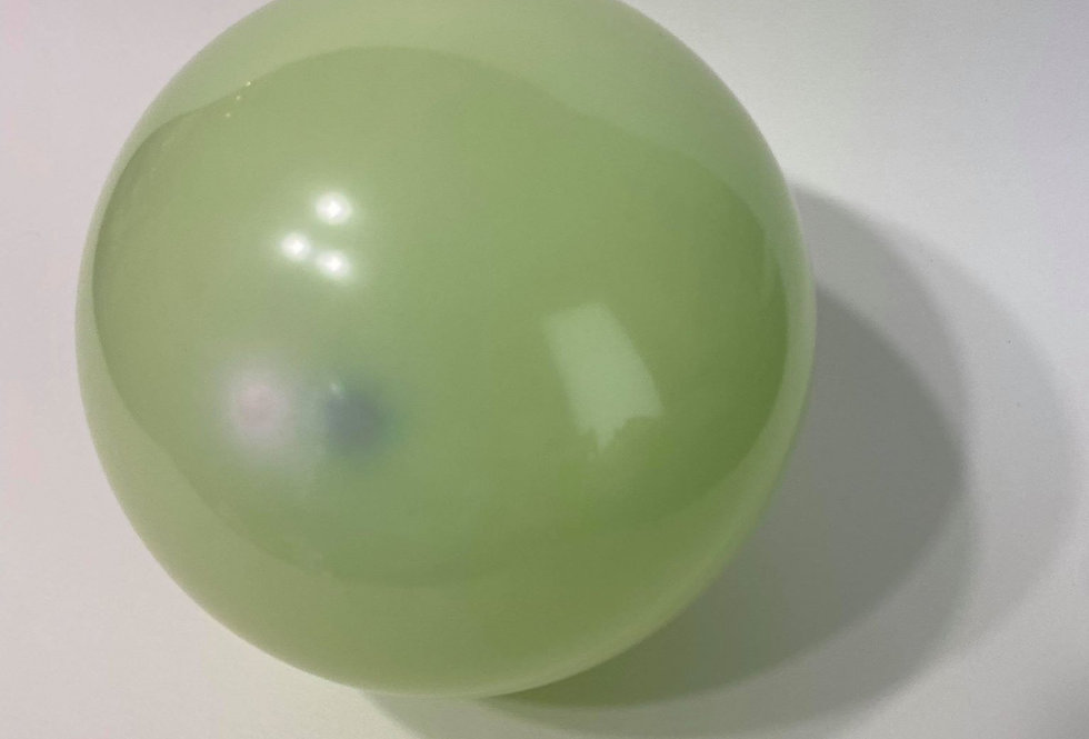 """TBS 5"""" Double Layered Green Balloons"""