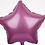 """Thumbnail: TBS Foil-Mini 5"""" Pink Star"""