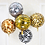Thumbnail: TBS Foil - 5pcs Set Animal Print Balloon 22""