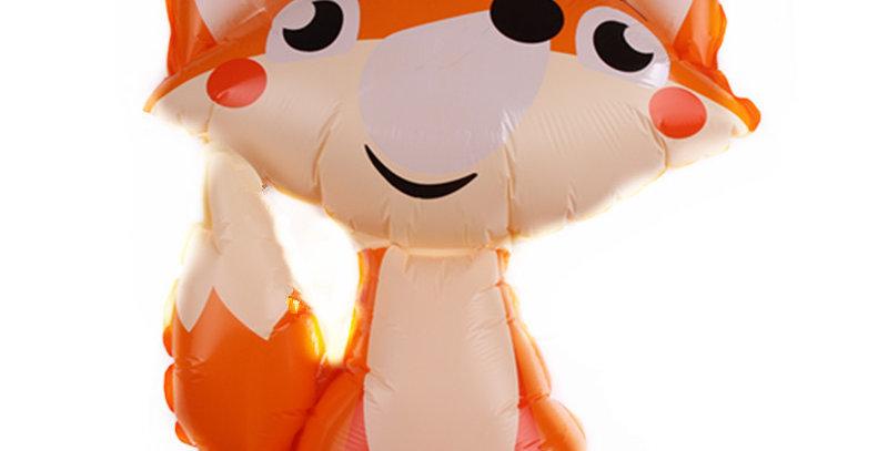 TBS Foil - Fox Shaped  foil Balloon