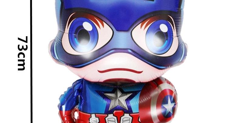TBS Foil - Marvel Heroes Foil Balloon-Captain America