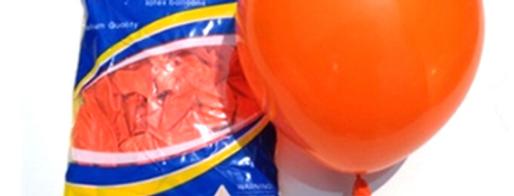 """TBS Latex - Orange Balloon 10"""""""