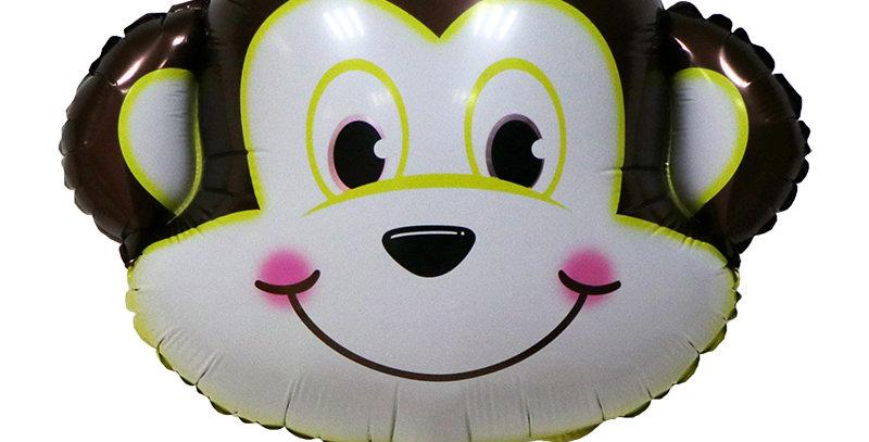 """TBS Foil - 23"""" Monkey Head Foil Balloon"""