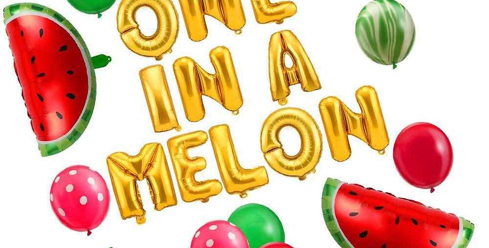 TBS Balloon Kit-One in a Melon Balloon
