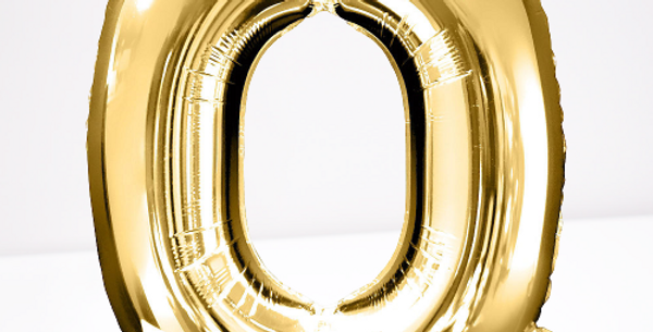 """TBS Foil - 16"""" Q Gold Balloon"""