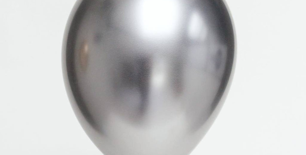 TBS Latex-Silver Chrome  Balloons 10pcs/pack