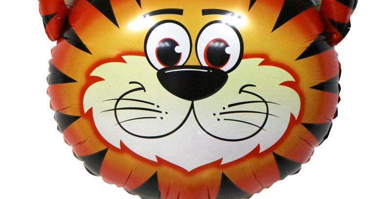 """TBS Foil - 22"""" Tiger Head Foil Balloon"""