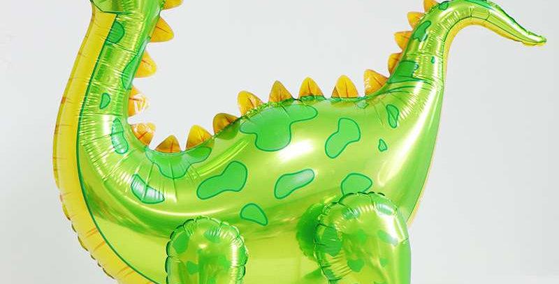 TBS Foil - Green Standing Foil Dinosaur Balloon