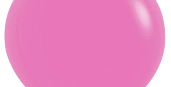 """TBS Latex-24"""" Fuchsia Round Balloon"""