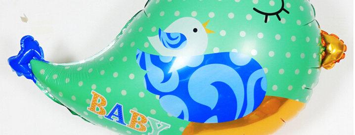 TBS Foil - Love Birds Shaped Foil Balloon Mint