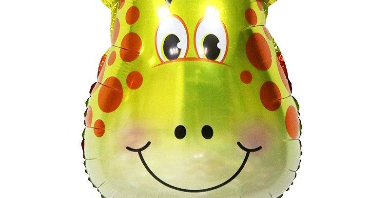 """TBS Foil - 24"""" Giraffe Head Foil Balloon"""