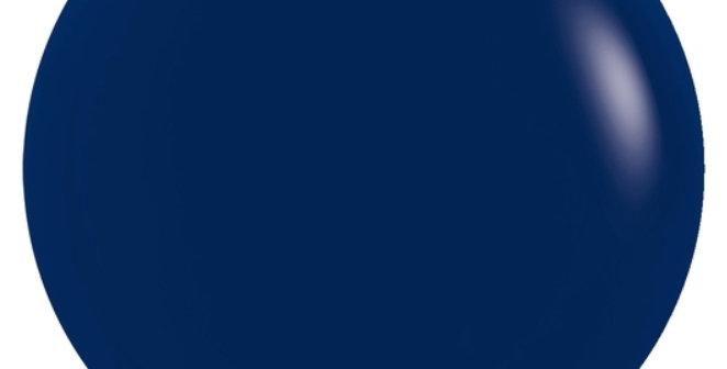 "TBS Latex-24"" Fashion Navy Blue Round Balloon"