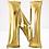 """Thumbnail: TBS Foil - 16"""" N Gold Balloon"""