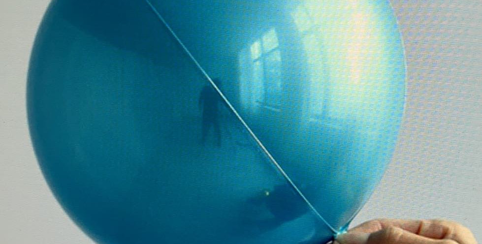 "TBS Specialty-Blue Orbz Balloon 10"""