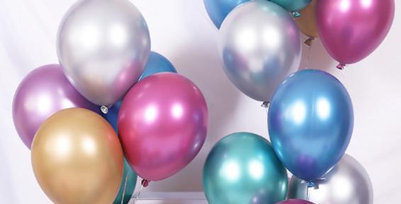 "TBS Latex - Chrome Balloon 12"""