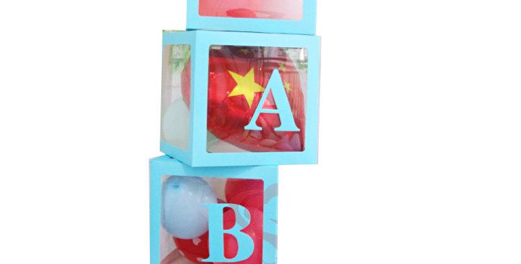 BABY Blue Balloon Box