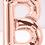 Thumbnail: TBS Foil - B Rose Gold Letter Balloon