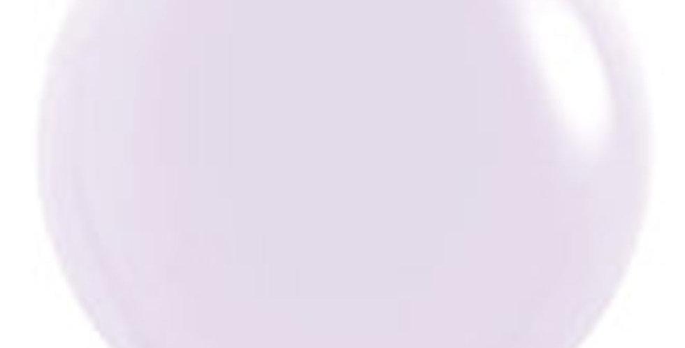 """TBS Latex-24"""" Matte Pastel Lavander Round Balloon"""