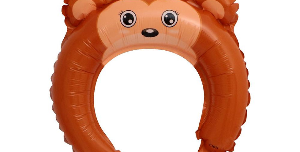 TBS Monkey Headband Balloon