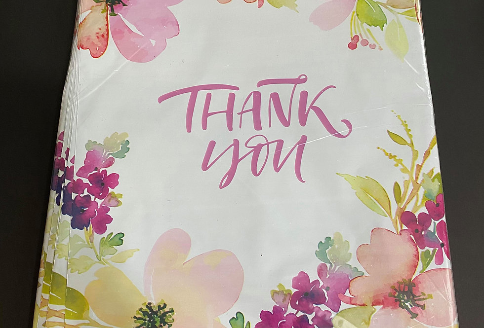 TBS Accessories_100pcs Poly Mailer_Thank You