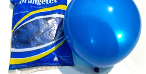 """TBS Latex - Balloon 10"""" Navy"""